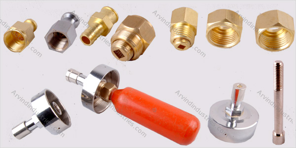 brass fire fighting components