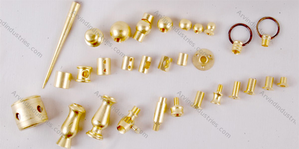brass fancy light components parts